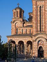 orthodoxe St. Markus Kirche -  Sv. Marka, Belgrad, Serbien, Europa<br /> Orthodox Markus church Sv. Marka, Belgrade, Serbia, Europe
