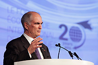 Gil Remillard, Founder of<br /> the International Economic Forum of the Americas 20th Edition, from June 9-12, 2014 <br /> <br />  Photo : Agence Quebec Presse - Pierre Roussel