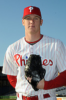 Feb 20, 2009; Clearwater, FL, USA; The Philadelphia Phillies pitcher Scott Nestor (68) during photoday at Bright House Field. Mandatory Credit: Tomasso De Rosa/ Four Seam Images