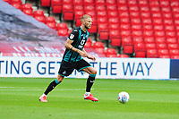 Mike van der Hoorn of Swansea City in action during the Sky Bet Championship match between Nottingham Forest and Swansea City at the City Ground Stadium in Nottingham, England, UK. Wednesday 15 July 2020
