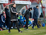 Hamilton Accies v St Johnstone…09.12.17…  New Douglas Park…  SPFL<br />Accies boss Martin Canning<br />Picture by Graeme Hart. <br />Copyright Perthshire Picture Agency<br />Tel: 01738 623350  Mobile: 07990 594431