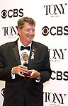 Howell Binkley  in the press room for the  70th Annual Tony Awards at the Beacon Theater on June 12, 2016 in New York City.