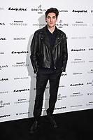 Isaac Carew<br /> arriving for the Esquire Townhouse 2019 launch party, London.<br /> <br /> ©Ash Knotek  D3528 16/10/2019