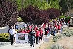 WNC Veteran's Suicide Awareness march 2015