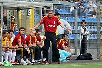 Trainer Michael Skibbe (Galatasaray) ratlos<br /> TSG 1899 Hoffenheim vs. Galatasaray Istanbul, Carl-Benz Stadion Mannheim<br /> *** Local Caption *** Foto ist honorarpflichtig! zzgl. gesetzl. MwSt. Auf Anfrage in hoeherer Qualitaet/Aufloesung. Belegexemplar an: Marc Schueler, Am Ziegelfalltor 4, 64625 Bensheim, Tel. +49 (0) 6251 86 96 134, www.gameday-mediaservices.de. Email: marc.schueler@gameday-mediaservices.de, Bankverbindung: Volksbank Bergstrasse, Kto.: 151297, BLZ: 50960101