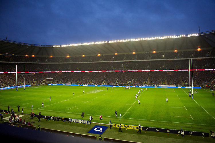 General view of Twickenham Stadium during the QBE Autumn International match between England and South Africa at Twickenham on Saturday 24 November 2012 (Photo by Rob Munro)