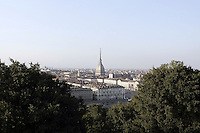 Una veduta di Torino, con la Mole Antonelliana.<br /> A view of Turin, with his symbol, the Mole Antonelliana.<br /> UPDATE IMAGES PRESS/Riccardo De Luca