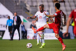 Seyed Ashkan Dejagah of Iran (L) is challenged by Do Hung Dung of Vietnam (R) during the AFC Asian Cup UAE 2019 Group D match between Vietnam (VIE) and I.R. Iran (IRN) at Al Nahyan Stadium on 12 January 2019 in Abu Dhabi, United Arab Emirates. Photo by Marcio Rodrigo Machado / Power Sport Images