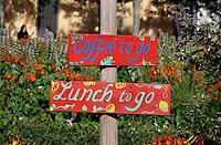 Nederland Amsterdam - 2019. Restaurant Bret bij Station Sloterdijk. Coffee To Go en Lunch To Go. Foto Berlinda van Dam / Hollandse Hoogte