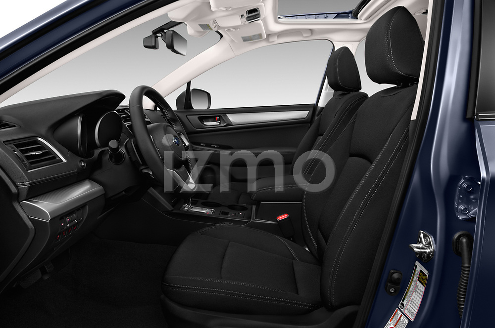 Front seat view of a 2018 Subaru Legacy Premium 4 Door Sedan front seat car photos