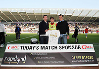 Saturday 2nd March 2013<br /> Pictured: Pablo Hernandez (C).<br /> Re: Barclays Premier Leaguel, Swansea  v Newcastle at the Liberty Stadium in Swansea.