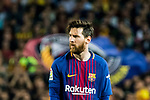 Lionel Andres Messi of FC Barcelona looks on during the La Liga 2017-18 match between FC Barcelona and Real Madrid at Camp Nou on May 06 2018 in Barcelona, Spain. Photo by Vicens Gimenez / Power Sport Images
