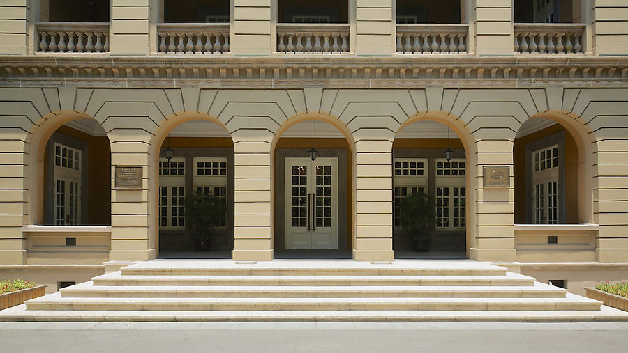 The Main Entrance To The Consulate.