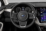 Car pictures of steering wheel view of a 2020 Subaru Outback Premium 5 Door Wagon Steering Wheel