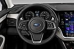 Car pictures of steering wheel view of a 2020 Subaru Outback Premium 5 Door Wagon Steering Wheel