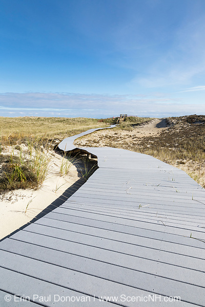 Parker River National Wildlife Refuge on Plum Island, Massachusetts during the autumn months. Established in the 1940s, this refuge consists of over 4,000 acres, and because it is located along the Atlantic Flyway it provides a habitat for migratory birds.