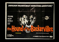 BNPS.co.uk (01202) 558833. <br /> Pic: SpecialAuctionServices/BNPS<br /> <br /> One of the most expensive lots is Hound of the Baskervilles, which could sell for up to £1,000 <br /> <br /> A collection of rare movie posters that have been sat gathering dust in a garage have sold at auction for £6,500.<br /> <br /> The 32 sheets date from the 1950s to the '70s and promote classic movies such as Frankenstein and Christopher Lee's Dracula.<br /> <br /> The vendor had owned the posters for several years after she had inherited them from a relative.
