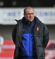 Belgium - The Netherlands : Nederlands coach  Roger Reijners.foto DAVID CATRY / Vrouwenteam.be