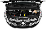 Car stock 2019 Renault Master L3h2 4 Door Cargo Van engine high angle detail view