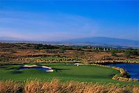 Hapuna Prince golf course hole #13, Big Island