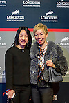 V.I.P. guests attend the Longines Hong Kong Masters 2015 at the Asiaworld Expo on 13 February 2015 in Hong Kong, China. Photo by Jerome Favre / Power Sport Images