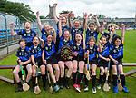 Kilkee/Kilbaha celebrate following their Schools Division 6 final at Cusack Park. Photograph by John Kelly