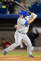 Daytona Cubs catcher Micah Gibbs #11 during a game against the Brevard County Manatees at Spacecoast Stadium on April 5, 2013 in Viera, Florida.  Daytona defeated Brevard County 8-0.  (Mike Janes/Four Seam Images)