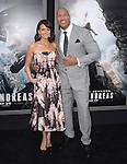 Dwayne Johnson and Carla Gugino attends The Warner Bros. Pictures World Premiere of San Andreas held at the TCL Chinese Theatre  in Hollywood, California on May 26,2015                                                                               © 2015 Hollywood Press Agency