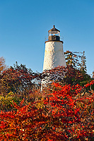 Dyce Head Lighthouse, Castine, Maine, ME, USA