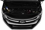 Car stock 2020 Opel Vivaro Innovation 4 Door Cargo Van engine high angle detail view