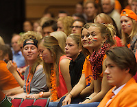 15-sept.-2013,Netherlands, Groningen,  Martini Plaza, Tennis, DavisCup Netherlands-Austria, fourth rubber,   Dutch supporters<br /> Photo: Henk Koster