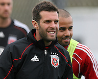 Head coach Ben Olsen and Fred#27 of D.C. United during a second round match of the Carolina Challenge against the Chicago Fire on March 9 2011 at Blackbaud Stadium, in Charleston, South Carolina. D.C. United won 1-0.