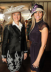 """Mary D""""Andrea and Gina Bhatia at the Hermann Park Conservancy Hat Party Tuesday March 9,2010. (Dave Rossman Photo)"""