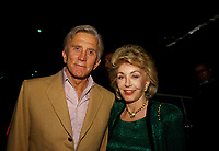**FILE PHOTO** Anne Douglas Has Passed Away.<br /> <br /> Anne Douglas And Kirk Douglas  04/29/1986 <br /> CAP/MPI/RAP<br /> ©RAP/MPI/Capital Pictures