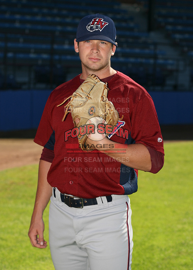 Josh Johnson of the Hudson Valley Renegades, Class-A affiliate of the Tampa Bay Devil Rays, during New York-Penn League baseball action.  Photo by Mike Janes/Four Seam Images