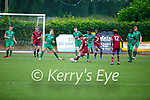 Action from Kerry v Galway in the U19 League of Ireland soccer game.
