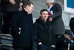 St Johnstone v Hamilton Accies…19.01.19…   McDiarmid Park    Scottish Cup 4th Round<br />New saints signing Michael O'Halloran in the stand with his agent Kenny Moyes<br />Picture by Graeme Hart. <br />Copyright Perthshire Picture Agency<br />Tel: 01738 623350  Mobile: 07990 594431