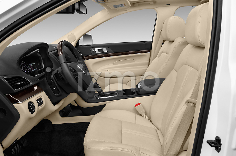 Front seat view of a 2018 Lincoln MKT Reserve 5 Door SUV front seat car photos