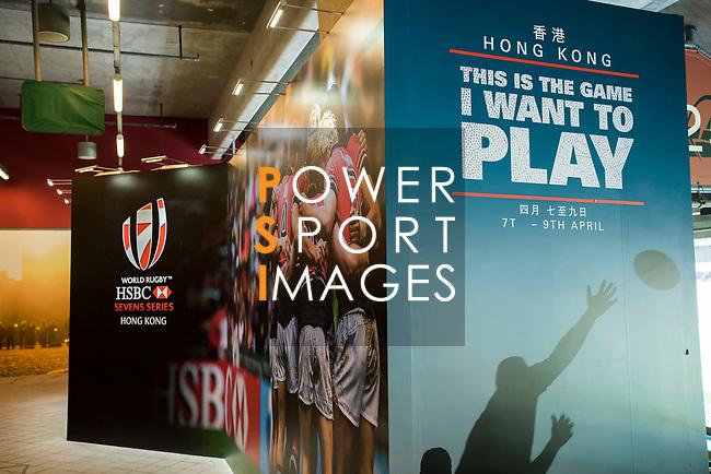 HSBC Sevens Village at the HSBC Hong Kong Rugby Sevens 2017 on 07 April 2017 in Hong Kong Stadium, Hong Kong, China. Photo by Weixiang Lim / Power Sport Images