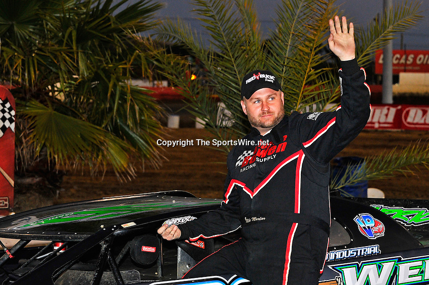 Feb 11, 2011; 6:30:13 PM; Gibsonton, FL., USA; The Lucas Oil Dirt Late Model Racing Series running The 35th annual Dart WinterNationals at East Bay Raceway Park.  Mandatory Credit: (thesportswire.net)