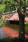 Red Bridge over Penns Creek, Union County