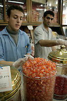 Traditional sweetie shop, Istanbul, Turkey