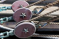 Nautical blocks on the USCGC Barque Eagle