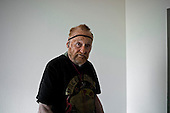 Los Angeles, California<br /> January 28, 2014<br /> <br /> Former WWII homeless veteran Ivan Bennett 85 yrs old in a home he moved into 5 days ago.