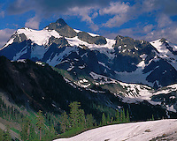 Mt. Shuksan as viewed from Austin Pass; Mt. Baker/Snoqualmie National Forest, WA