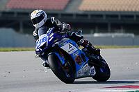 30th March 2021; Barcelona, Spain; Superbikes, WorldSSP600 , day 2 testing at Circuit Barcelona-Catalunya;   H. Soomer riding Yamaha YZF R6 from KAllio Racing