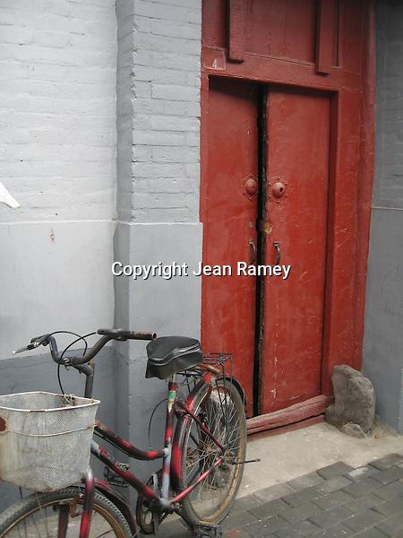Red Door & Bike