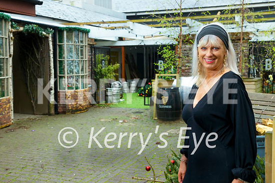 Orlagh Winters at Benners Hotel courtyard in Tralee.