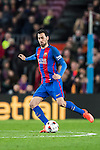 Sergio Busquets Burgos of FC Barcelona in action during their Copa del Rey 2016-17 Semi-final match between FC Barcelona and Atletico de Madrid at the Camp Nou on 07 February 2017 in Barcelona, Spain. Photo by Diego Gonzalez Souto / Power Sport Images