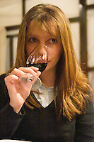 Alejandra Secco, oenologist at Bodega XXX winery, Montevideo, Uruguay, South America